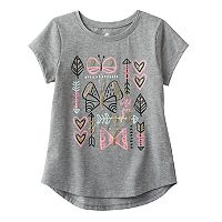 Girls 4-10 Jumping Beans® Foiled Graphic Tee