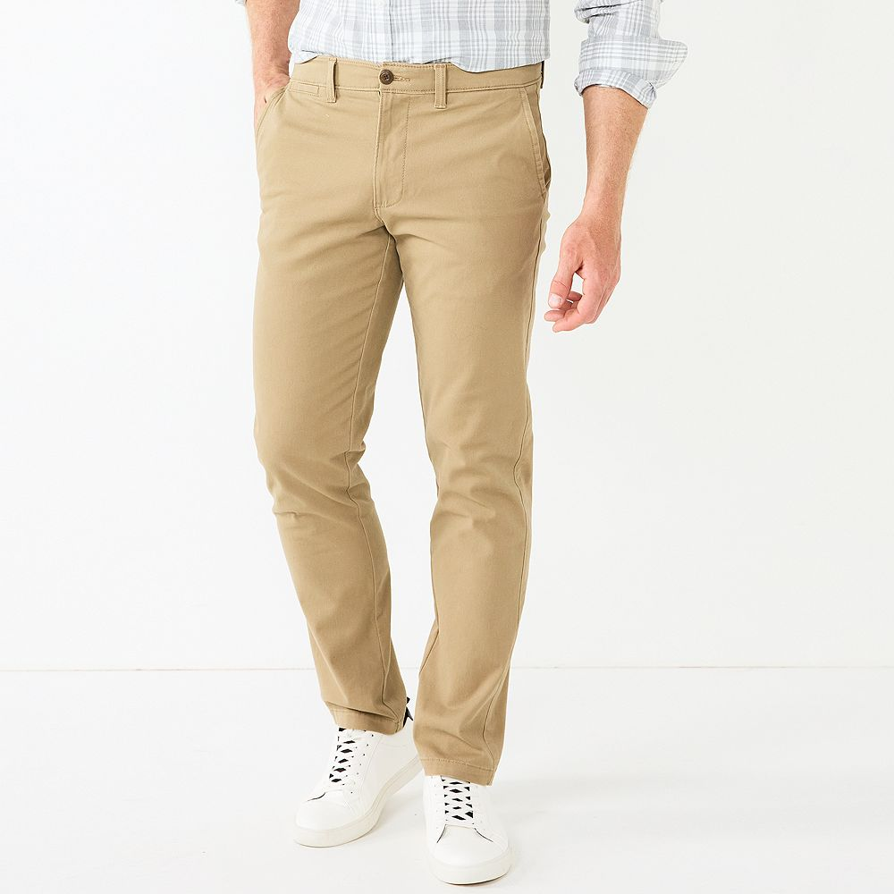 Men's SONOMA Goods for Life® Regular-Fit Stretch Chino Pants
