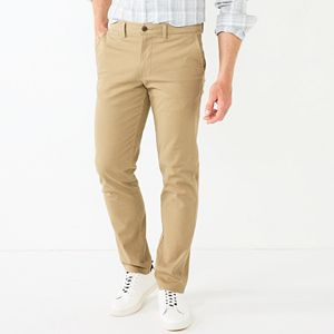 e19e065ee2 Men's SONOMA Goods for Life™ Modern-Fit Athletic Stretch Twill Chino ...