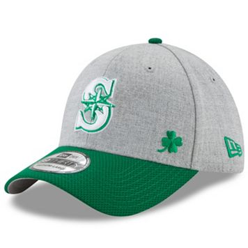 Adult New Era Seattle Mariners Change Up Redux St. Patrick's Day 39THIRTY Fitted Cap