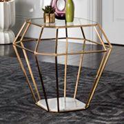 Safavieh Couture Abena Geometric End Table
