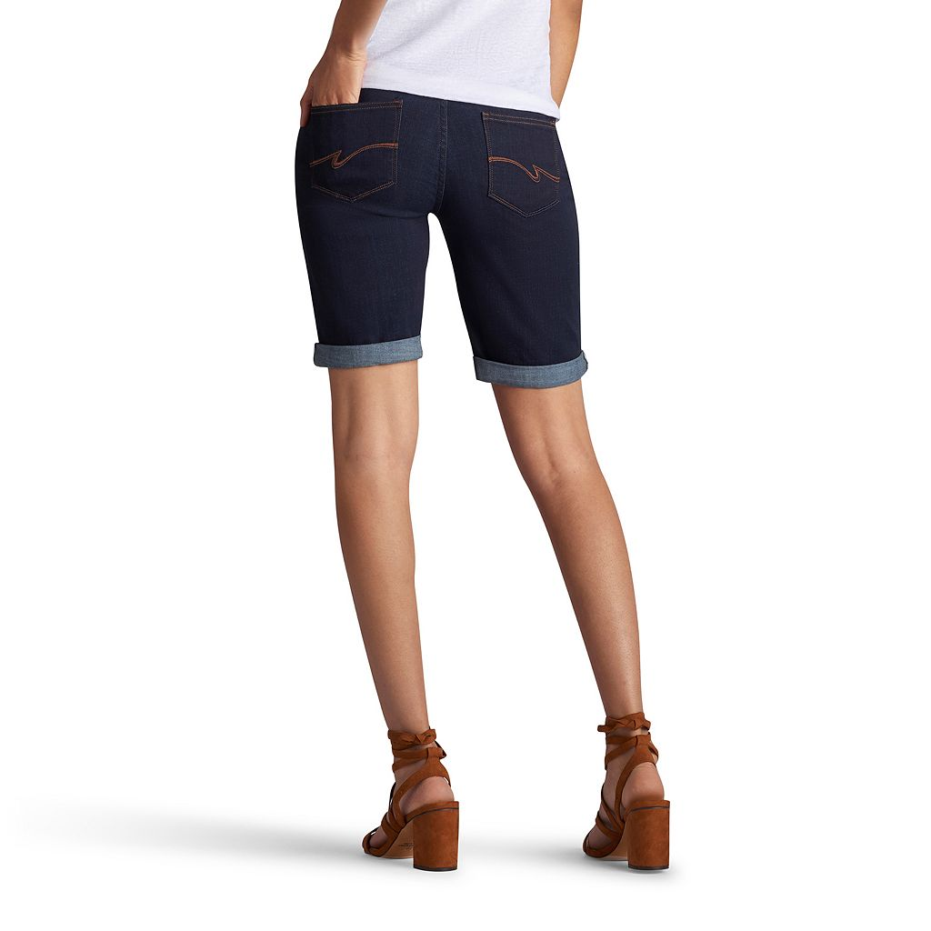 Women's Lee Gunnison Bermuda Jean Shorts