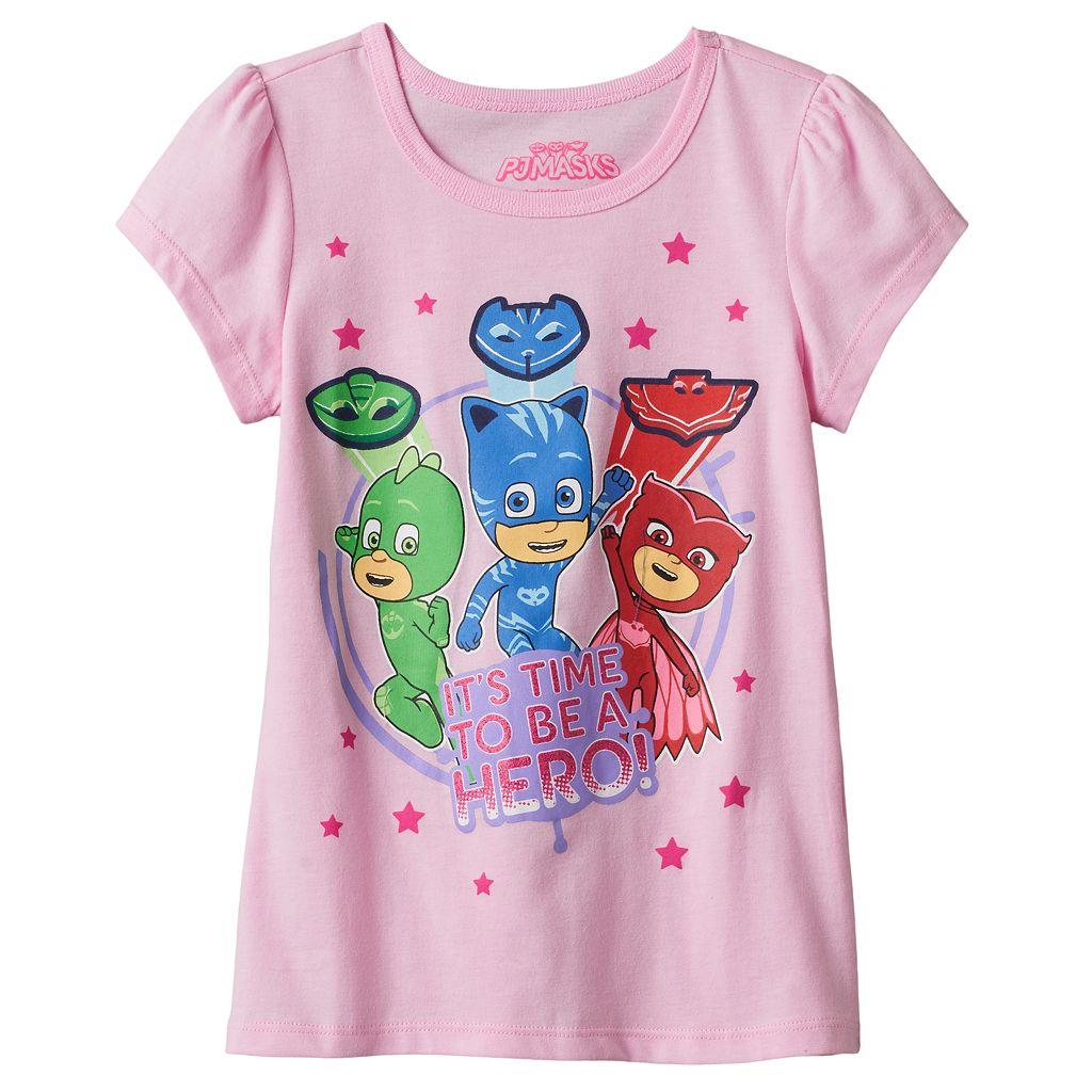 Girls 4-6x PJ Masks Catboy, Owlette & Gekko