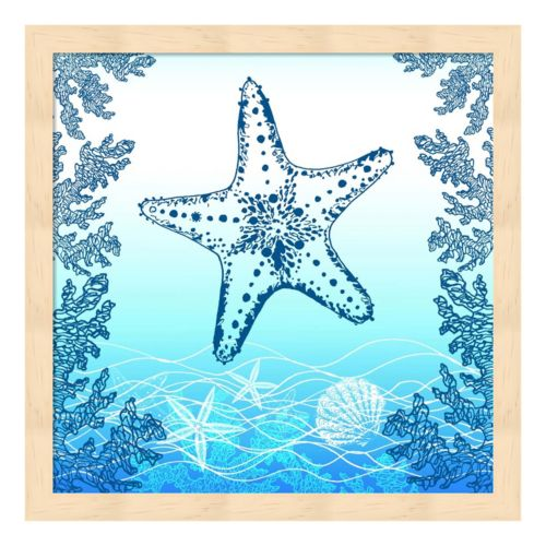 Ocean I Framed Wall Art