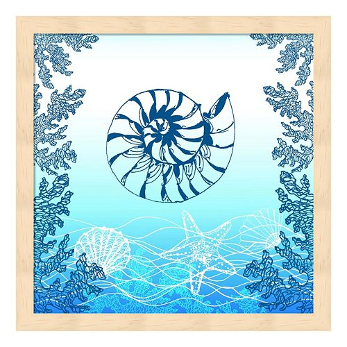Ocean II Framed Wall Art