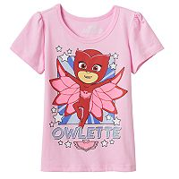 Toddler Girl PJ Masks Owlette Graphic Tee