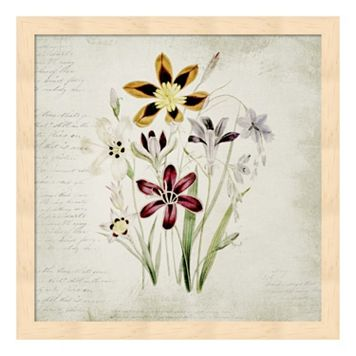 Wild Flowers One Framed Wall Art