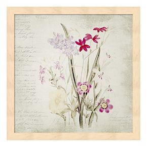 Wild Flowers Two Framed Wall Art