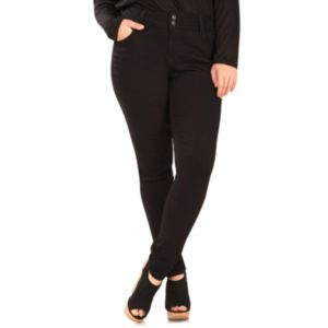 Juniors' Plus Size Wallflower Ultra Skinny Jeans