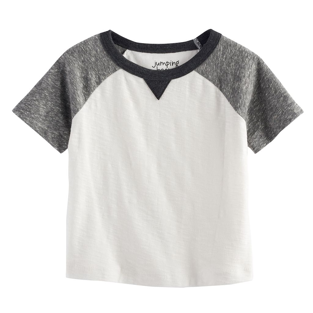 Baby Boy Jumping Beans® Raglan Slubbed Graphic Tee