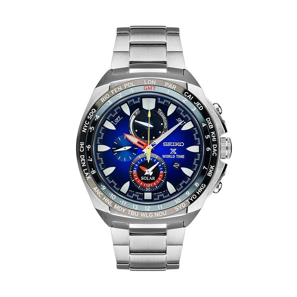 Seiko Men's Prospex Special Edition Kojiro Shiraishi World Time Solar Watch - SSC549