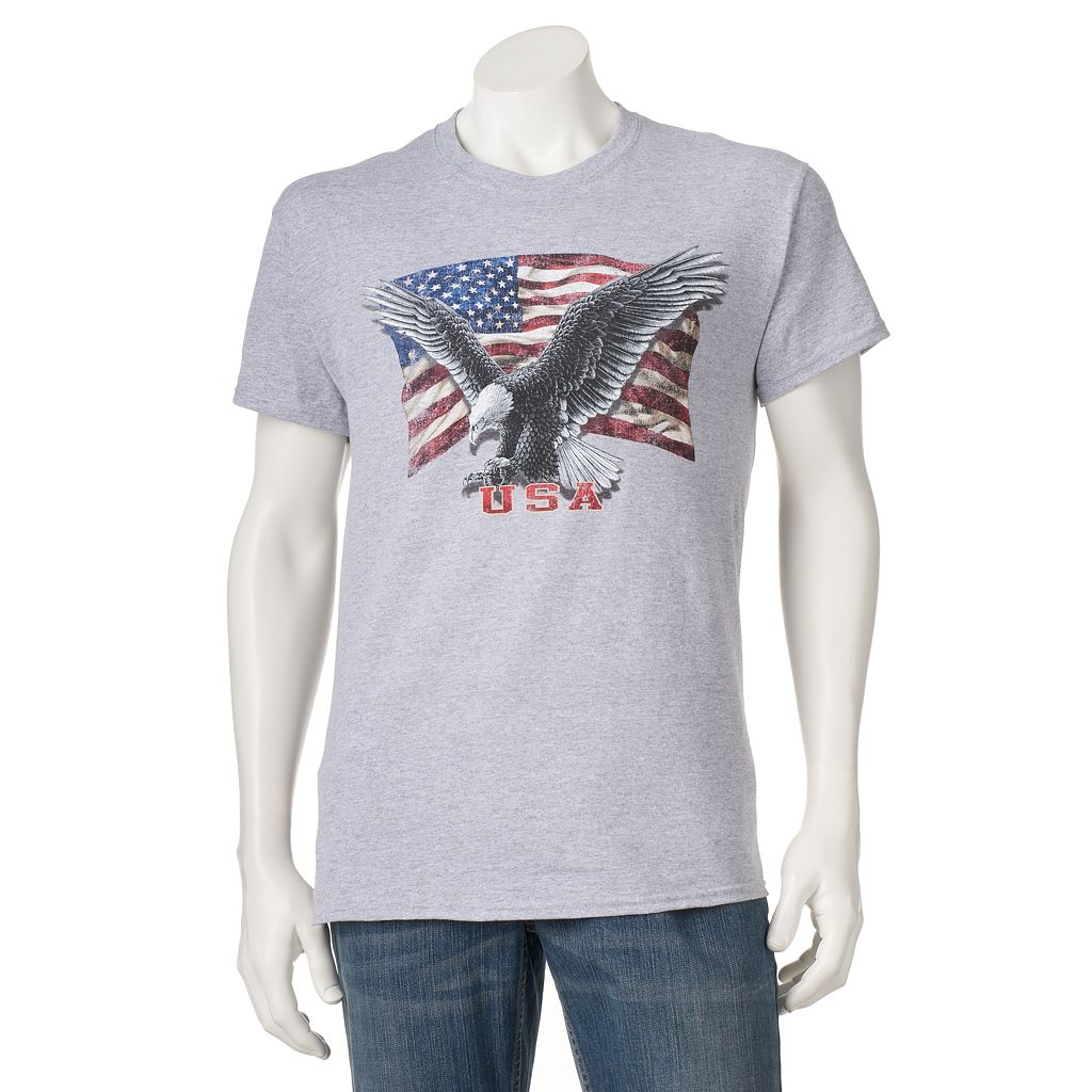 Men's Eagle Old Glory Tee