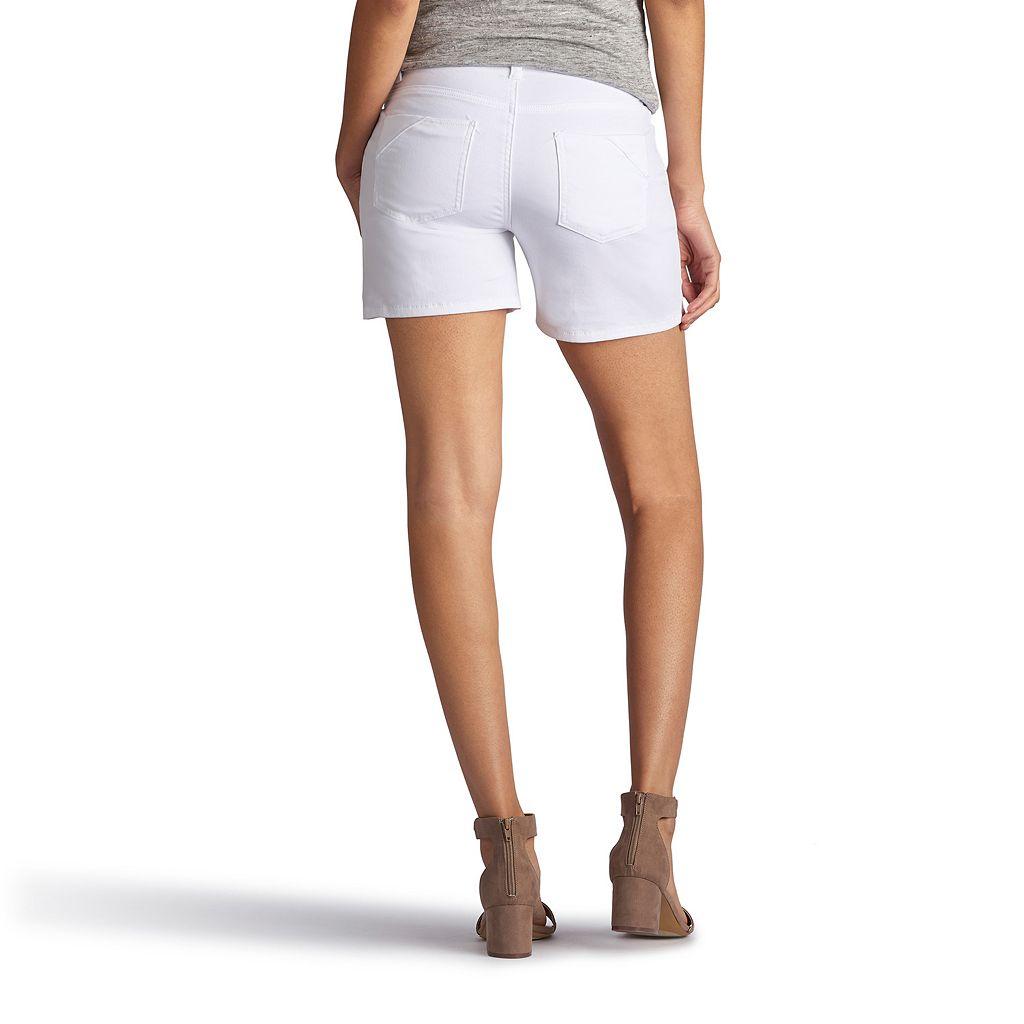 Women's Lee Twila Modern Series Belted Jean Shorts