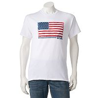 Men's Flag On Tee