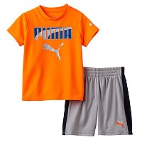 Boys 4-7 Puma Graphic Performance Tee & Shorts Set
