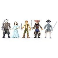 Pirates of the Caribbean: Dead Men Tell No Tales Battle Figure 5-Pack