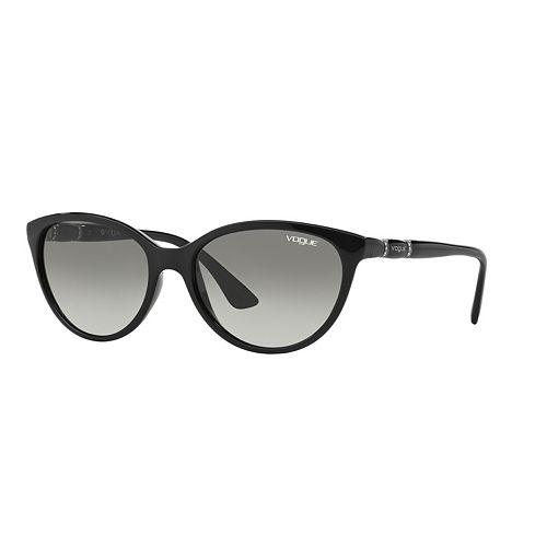 Vogue Timeless VO2894S 56mm Oval Gradient Polarized Sunglasses with Swarovski Elements