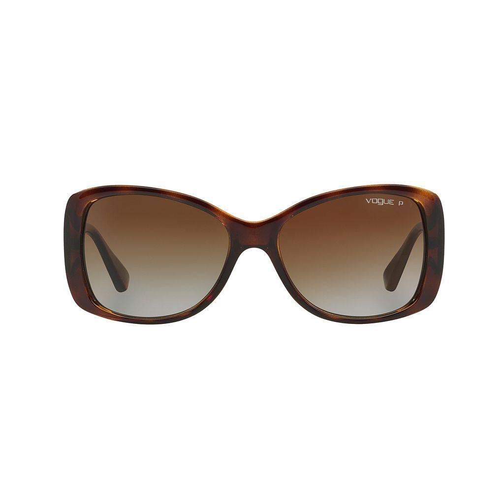 Vogue In Vogue VO2843S 56mm Square Gradient Polarized Sunglasses