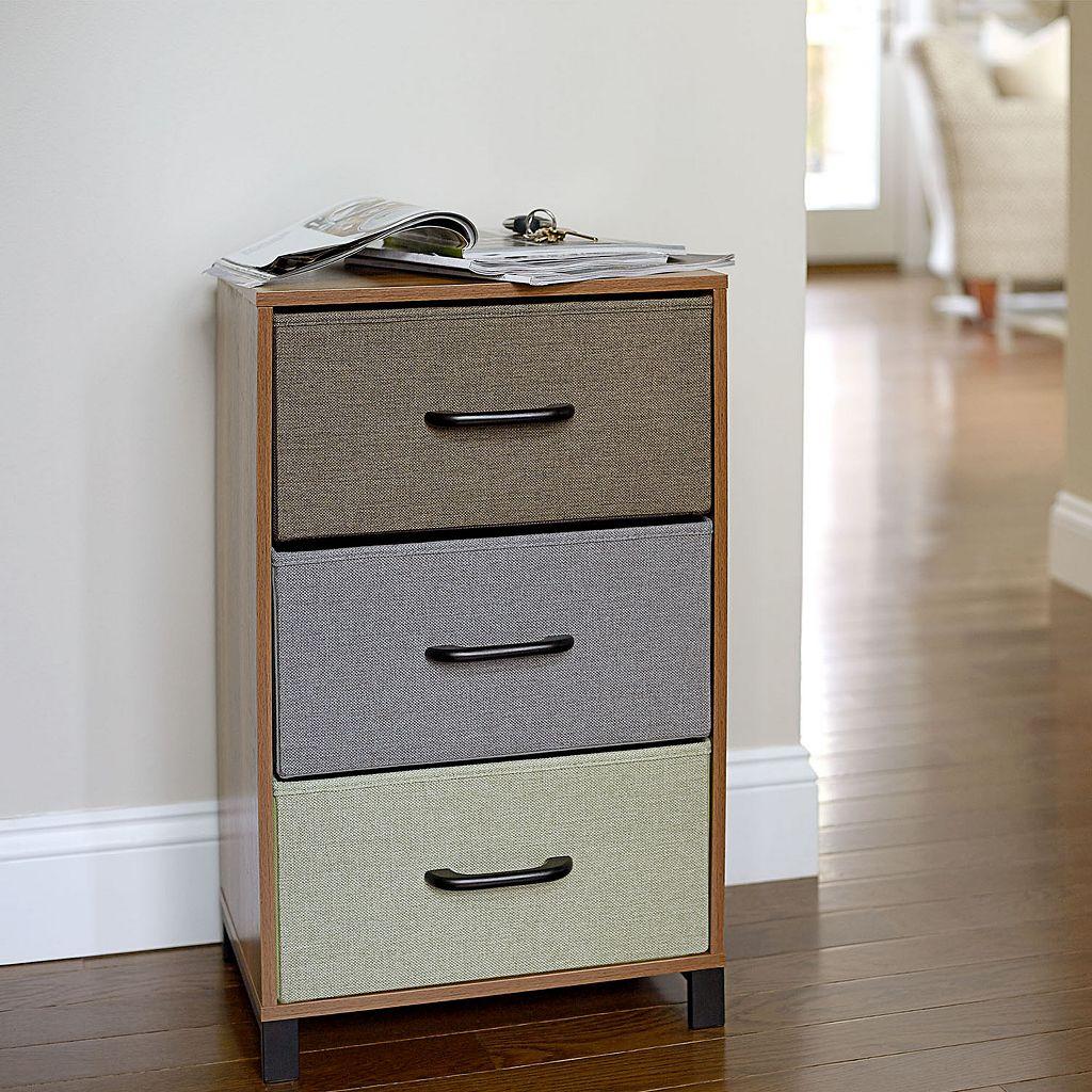 Household Essentials 3-Drawer Storage Chest