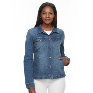 Women's Gloria Vanderbilt Evelyn Shirt Jacket