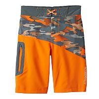 Boys 8-20 Free Country Camouflage Board Shorts