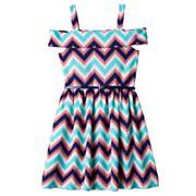 Girls 7-16 Knitworks Belted Cold Shoulder Dress