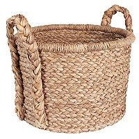 Household Essentials Large Wicker Floor Basket