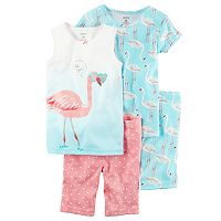 Girls 4-12 Carter's Animals Pajama Set