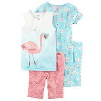 Girls 4-12 Carter's Animals Pajama Set