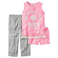 Girls 4-14 Carter's Dot & Print Pajama Set