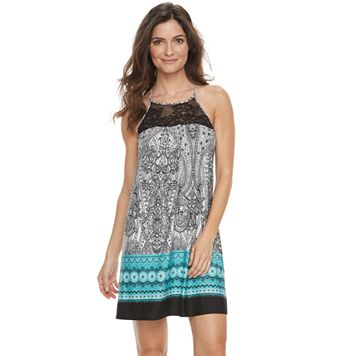 Women's Apt. 9® Must Have High Neck Chemise