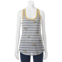 Juniors' Despicable Me Minions Stripe Racerback Graphic Tank
