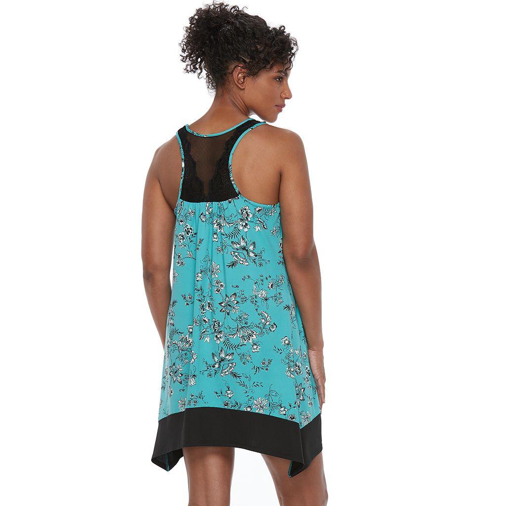 Women's Apt. 9® Pajamas: Must Have Sharkbite Hem Chemise