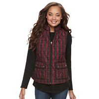 Petite Croft & Barrow® Quilted Vest