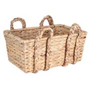 Household Essentials Large Rectangular Floor Basket
