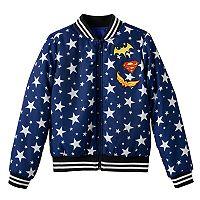 Girls 7-16 DC Comics Super Hero Girls Bomber Jacket