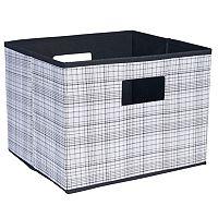 Household Essentials Deluxe Open Storage Bin