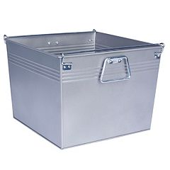 Household Essentials Metal File Box
