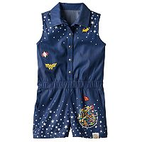 Girls 7-16 DC Comics Super Hero Girls Romper