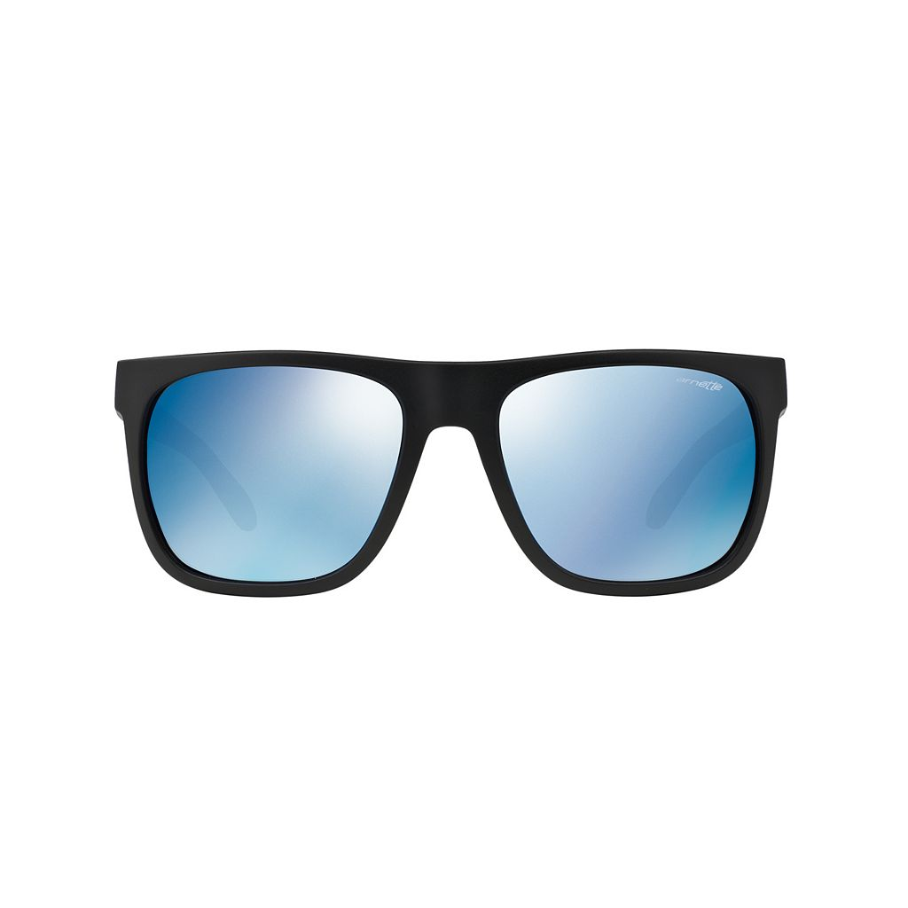 Arnette Fire Drill AN4143 59mm Square Mirror Sunglasses
