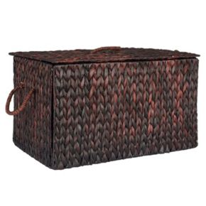 Household Essentials Spring Wicker Storage Trunk