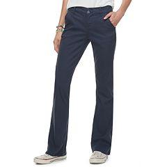 Juniors' Unionbay Hayden Twill Bootcut Pants