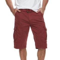 Mens Red Cargo Shorts - Bottoms, Clothing | Kohl's