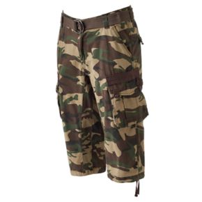 Men's XRAY Messenger Belted Cargo Shorts