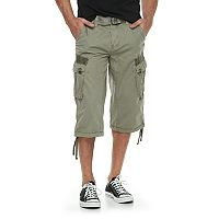 Men's XRAY Messenger Belted Cargo Shorts