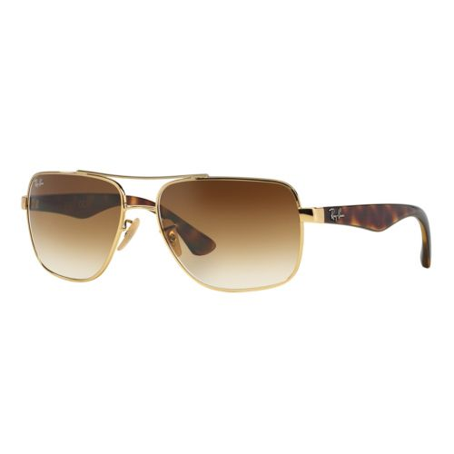Ray-Ban RB3483 60mm Highstreet Square Gradient Sunglasses