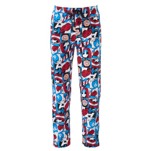 Men's Marvel Captain America Lounge Pants