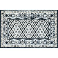 Momeni Newport Channing Framed Medallion Wool Rug