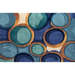 Momeni New Wave Aurelia Geometric Wool Rug