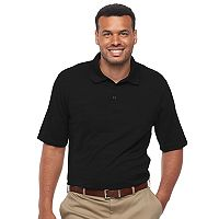 Big & Tall Haggar Classic-Fit Space-Dyed Performance Polo